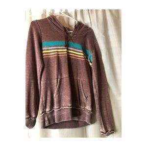 Billabong distressed sweater
